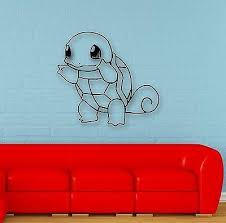 Wall Stickers Vinyl Decal Pokemon Anime For Kids Baby Room Nursery Uni Wallstickers4you