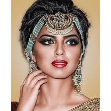 indian stani bridal makeup by