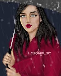 صور بنات كرتون حزينه رومانسيه رمزيات انمي كرتونيه Cute Girl Drawing Girly Art Cute Kawaii Girl