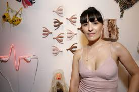 Defining Form Group Show artist Sophia Wallace @ Untitled Space photo by  Cheryl Gorski 19 - Fashion Maniac