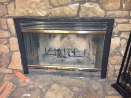 prefabricated wood burning fireplace