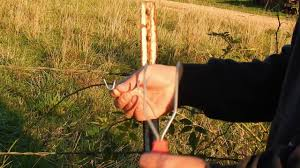 Fence Fork Tool Easier Way To Use T Post Clips Youtube