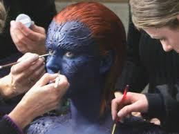 mystique makeup application saubhaya