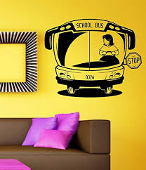 Amazon Com School Bus Driver Vinyl Wall Decal Sticker Car Window Truck Decals Stickers Quote Everything Else
