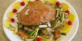 Crab With Ginger and Scallion Sauce ...