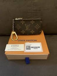 new authentic louis vuitton key pouch