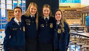 Grundy R-5 FFA member, Ada Fox, elected as Area 2 First Vice President