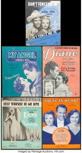 Don T Fence Me In By Cole Porter Other Lot Chappell 1944 Lot 52123 Heritage Auctions
