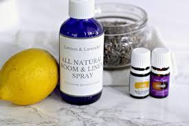 diy lemon and lavender room spray