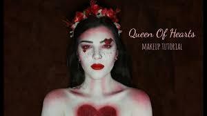 queen of hearts inspired makeup