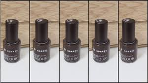 colour swatches korres nail colour 68
