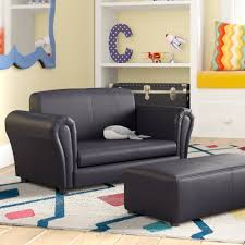 Zoomie Kids Lach Kids Chair And Ottoman Reviews Wayfair