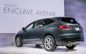 2019 buick enclave info specs wiki