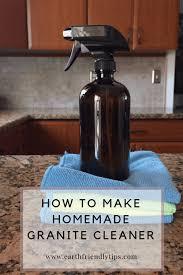 how to make homemade granite cleaner