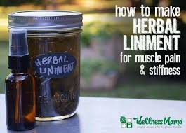 how to make a herbal liniment