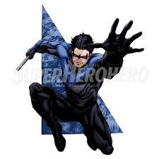 Designs Nightwing Iron On Transfers Wall Car Stickers No 5054 Superheroironons 0514 2 Superheroironons Com
