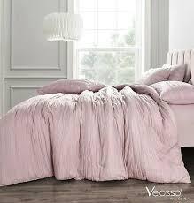 crinkle pleated duvet cover bedding set