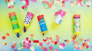 easy to make your own confetti cannon