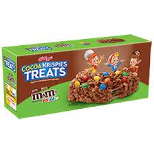 kellogg s cocoa krispies treats with