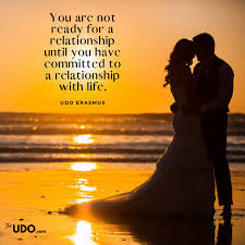The way I put it with my kids, I said to them: You are not ready for a  relationship until you have committe… | Health inspiration, Connected life,  Peace and harmony