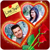 romantic love photo frames app in pc