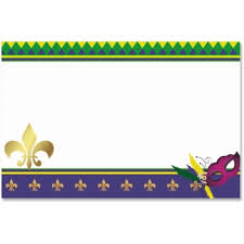 Image result for mardi gras beads page border images