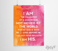 the daughter of a king christian quotes x by uplift prints