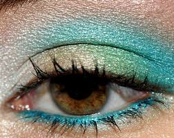 gold green teal with urban decay