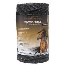Electrobraid 1000 Ft Reel Black Sparr Building And Farm Supply