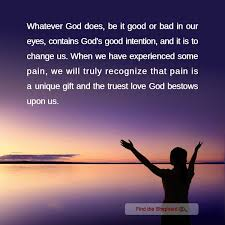 god s good intention god s love christian quotes