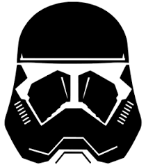 Star Wars Rise Of Skywalker Sith Trooper Helmet First Order Vinyl Truck Decal Ebay