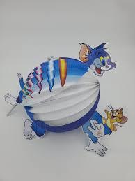 Lồng đèn giấy hình Mèo Tom và Chuột Jerry