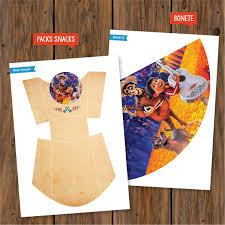 Kit Imprimible Coco Disney Candy Bar Invitacion Deco Cumple