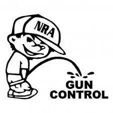 Nra Piss On Gun Control Vinyl Car Laptop Window Wall Decal Mymonkeysticker Com