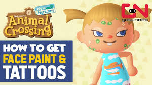 how to get face paint tattoos