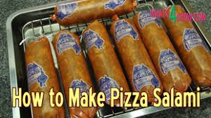 how to make pizza salami full