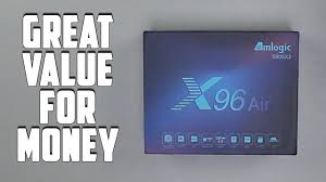 Great Value For Money Android TV Box - X96 AIR TV Box Review