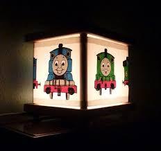 Thomas The Train Lamp Lantern Night Light Thomas The Train Train Lamp Train Room Decor