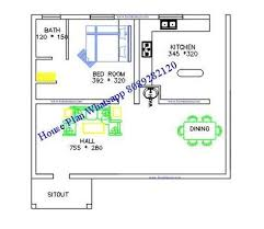 free 600 sq ft kerala house plan 2 cent