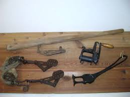 Antique Vintage Fence Stretcher Lot Of 4 Barb Wire Stretcher Old Farm Tool Antique Price Guide Details Page