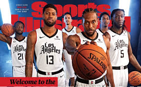 LA Clippers Unveil New City Edition Uniforms On Sports Illustrated Cover –  CBS Los Angeles