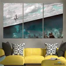 Bioshock Rapture 99 Canvas Wall Art Prints Xenda Canvas Wall Art Oversized Canvas Art Wall Art
