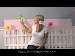 White Small Picket Fence For A Garden Play Room Children S Bedroom And Nursury Room Decor Youtube