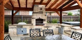 georgetown luxury outdoor kitchens