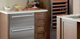 integrated double drawer refrigerator