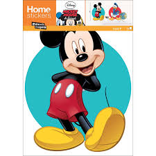 Mickey Mouse and Donald Duck wall sticker