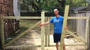 How To Build A Wooden Gate Double That Won T Sag Youtube