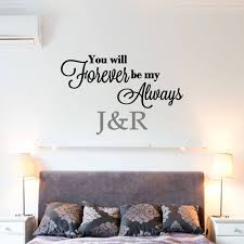 Custom Forever My Always Vinyl Decal Home Decor Wall Art Etsy