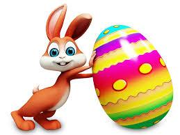 Zając, Jajko, Wielkanoc, Grafika