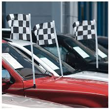 Ds 237 Antenna Checkered Racing Flags Dealers Supply Company